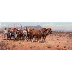 Supply Wagon by Warren, Melvin