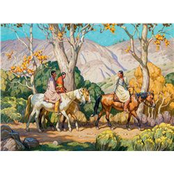 Taos Travelers by Solliday, Tim