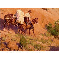 Along the Rim Rock by Norton, Jim