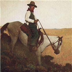 Descending Cowboy by Dean, Glenn