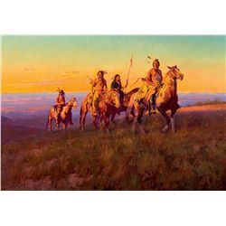 Cheyenne at Sunset by Norton, Jim