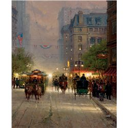 Trolley Lines on Broadway by Harvey, G.