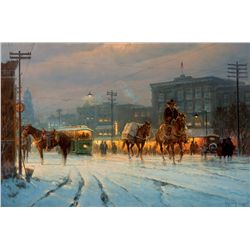 The Changing of Horsepower by Harvey, G.