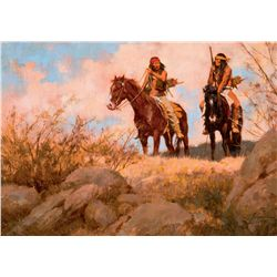 Chiricahua Scouts by Terpning, Howard
