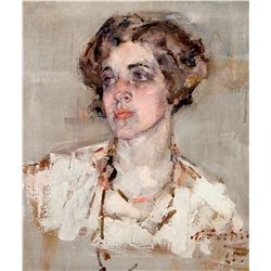 Portrait of Mrs. Dean Cornwell, 1925 by Fechin, Nicolai