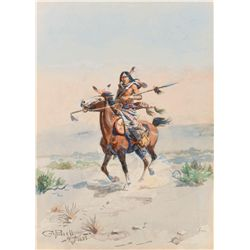 Nobleman of the Plains by Russell, Charles M.