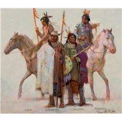 The Algonquin Family by Riley, Kenneth