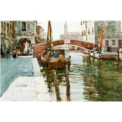 A Canal in Chioggia by Teague, Donald