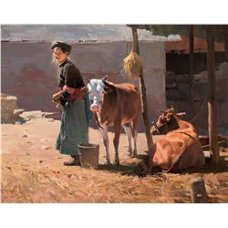 Morning Chores by Situ, Mian
