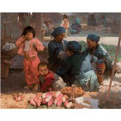 Yangwu Market Day, Yun Nan Province by Situ, Mian