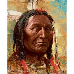 Blackfoot Warrior by Wieghorst, Olaf