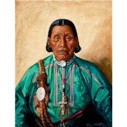 Chief Brown Eagle by Leighton, Kathryn