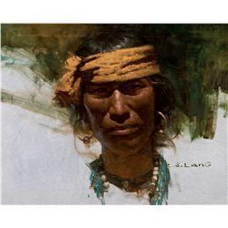 Pueblo Man by Liang, Z.S.