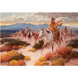 Above the Rio Bravo by Andersen, Roy