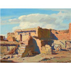 Hopi Village (Walpi) by Borg, Carl Oscar
