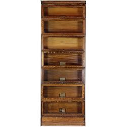 Exceptional Globe Wernicke stacking bookcase