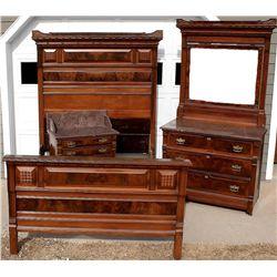 Henry Frawley's Victorian bedroom set