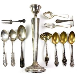 Collection of misc. sterling silver flatware