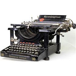 Antique Remington stand 10 typewriter