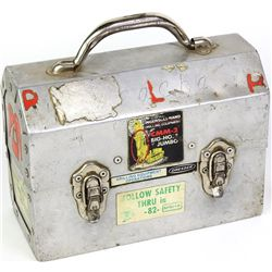 Metal Homestake Gold miners lunch box.