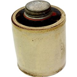 Early stoneware fruit jar marked MacComb