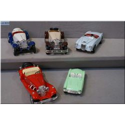 Selection of Durago collectible cars including Mercedes Benz, Alpha Romeo, etc