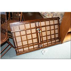 Antique folding playpen ideal for teddy bear or doll display