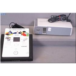 A Sony video recordable DVD drive and a digital photo printer
