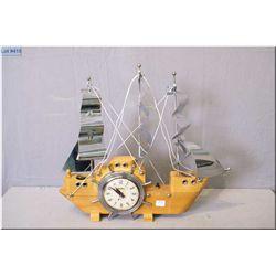 "A vintage ""Snider"" ship's motif lamp"