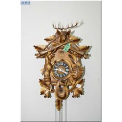 A Black Forest style cuckoo clock
