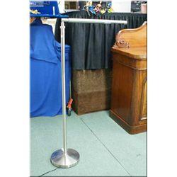 Modern brushed nickel floor standing branch lamp