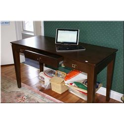"""Modern library style computer desk made by """"Hooker Furniture"""""""