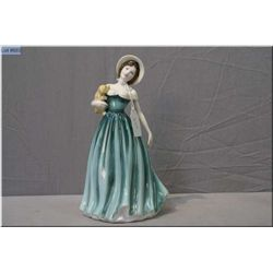 Royal Doulton figurine Eleanor HN4463 from the Classics collection and hand signed