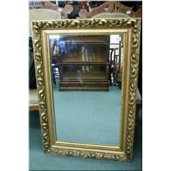 Vintage gilt framed wall mirror