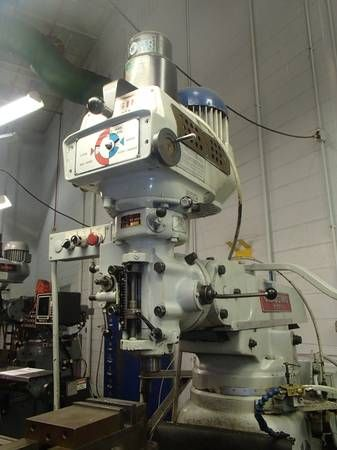 Clausing Kondia FV-300 Vertical Mill w/ DRO