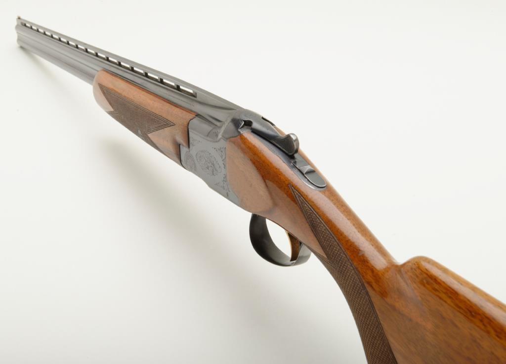 Belgian Browning Lightning model Superposed 410 gauge over and under  shotgun in very good plus condi