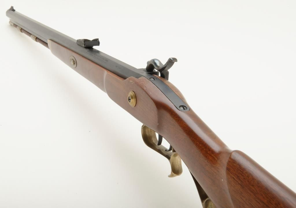 "Thompson Center Arms Hawken Model half stock percussion black powder rifle,   50 cal , 28"" octagon ba"
