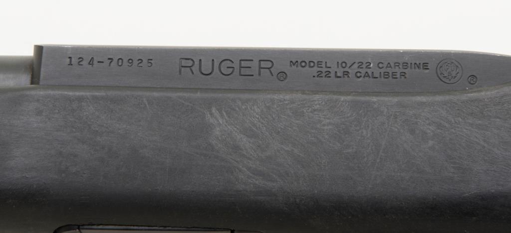 Ruger 10 22 serial numbers