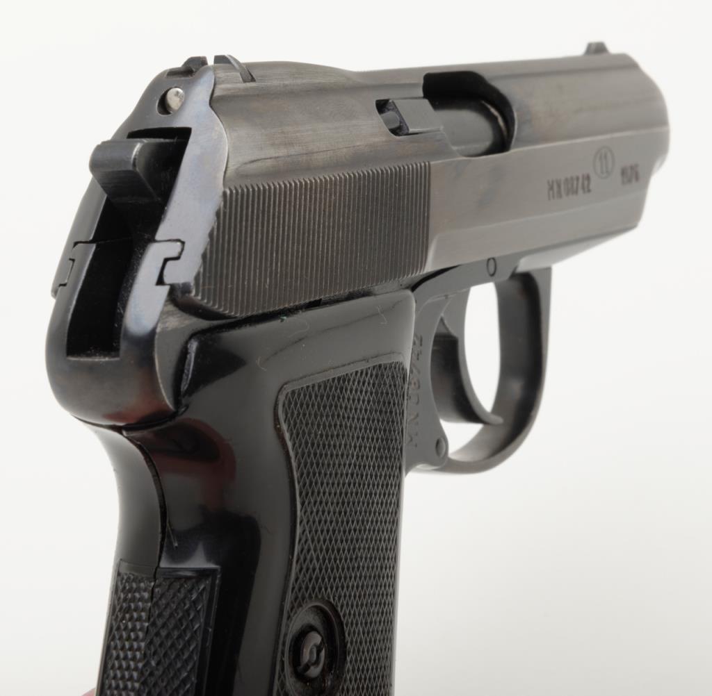 """Polish Radom Model P-64 DA semi-auto pistol, 9mm cal , 3"""" barrel, blue  finish, checkered plastic gri"""