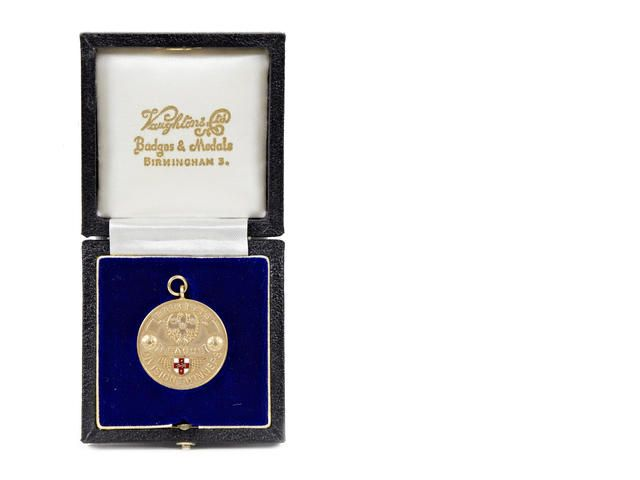 Championship Gold Medal for the English Football League