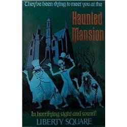 Disneyland Haunted Mansion Poster