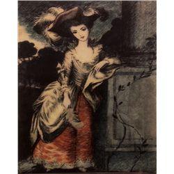 Disney Prototype Haunted Mansion Lenticular Portrait