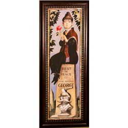 Disney Haunted Mansion Stretching Poster Print - Rest in Peace