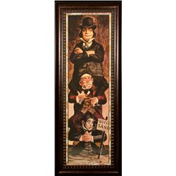 Disney Haunted Mansion Stretching Poster Print - Quick Sand