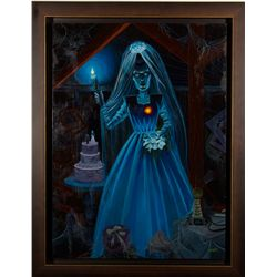 Haunted Mansion Bride Painting