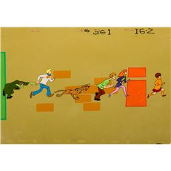 """Rare Scooby Doo original Production Cels from """"Jeepers, It's The Creeper"""""""