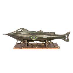 Replica Model of Captain Nemo's Nautilus from 20,000 Leagues Under the Sea