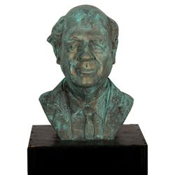 Bust of Ray Harryhausen by Casey J. Wong
