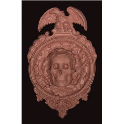"""Rose-colored """"CreepTart"""" Hanging Wall Sculpture"""