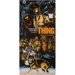 The Thing Limited Edition Cast & Crew Reunion Screen Print